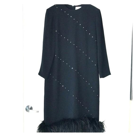 Nolan Miller Dresses & Skirts - Nolan Miller black evening dress